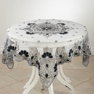 Hand Beaded Design Tablecloth