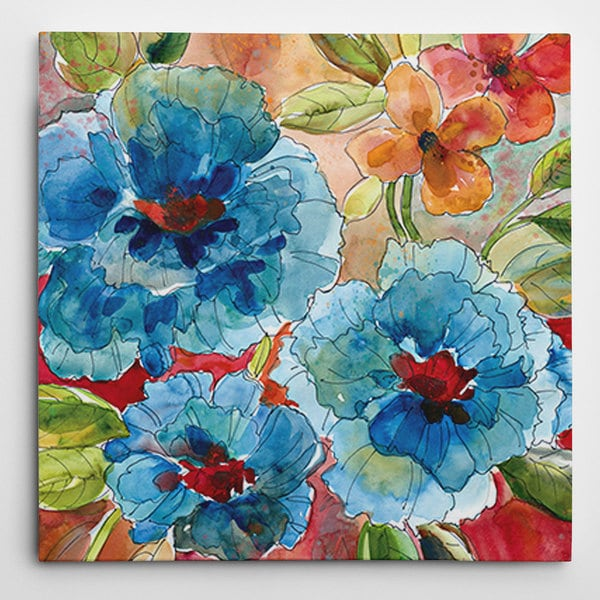 Weston Home 'Garden Party II' Premium Gallery Wrapped Canvas