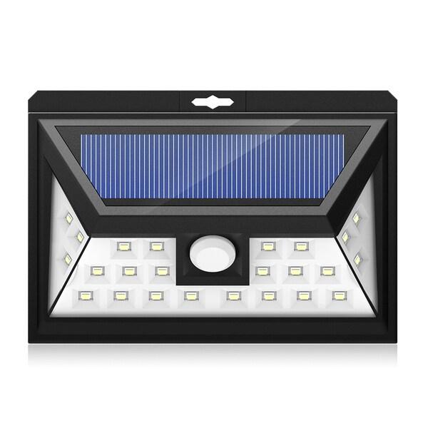 Outdoor Solar-powered Security Motion-sensor LED Light