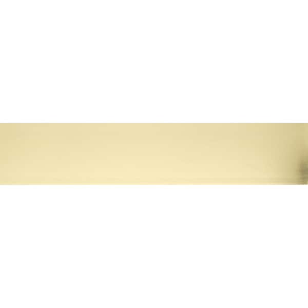Brass/Aluminum/Stainless Steel 6-inch x 30-inch Kick Plate