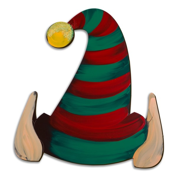 Letter2Word Elf Hat Seasonal Dimensional Decor