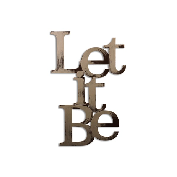 Letter2Word Let It Be Dimensional Decor