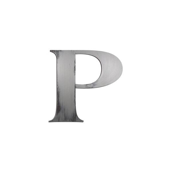 Letter2Word Letter 'P' Dimensional Letter