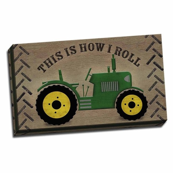 Picture It on Canvas 'This is How I Roll' Gallery-wrapped Canvas Wall Art