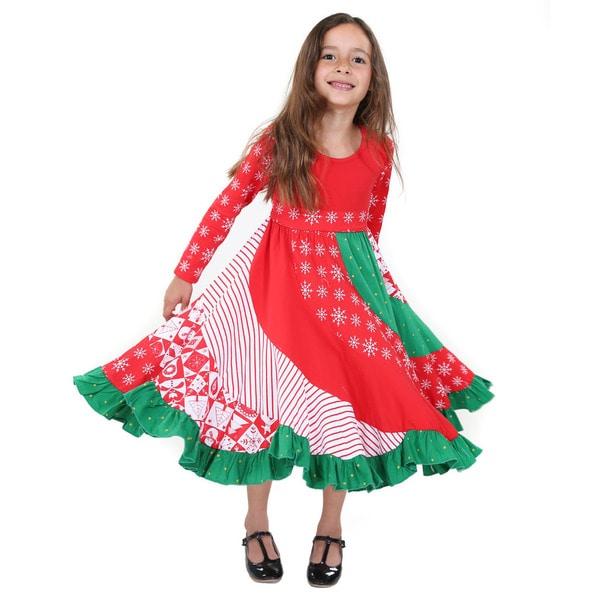 Jelly the Pug Girls' Flo Dress