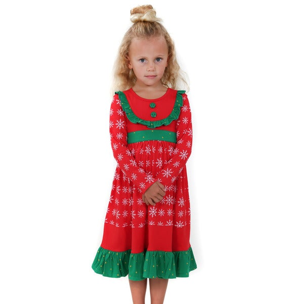 Jelly the Pug Girls' Bri Knit Dress