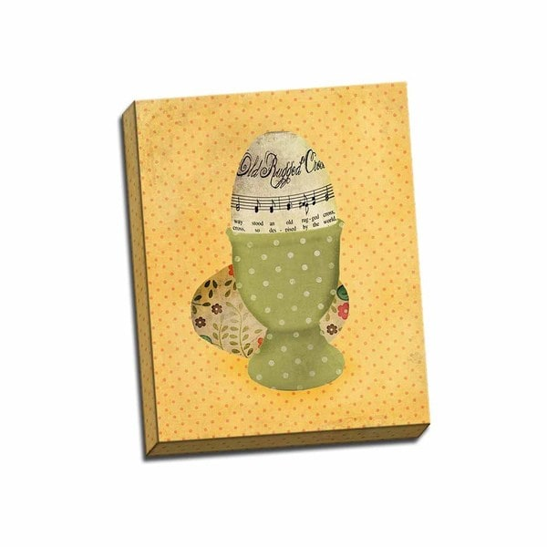 Picture It on Canvas 'Egg Cup' 16-inch x 20-inch Wrapped Canvas