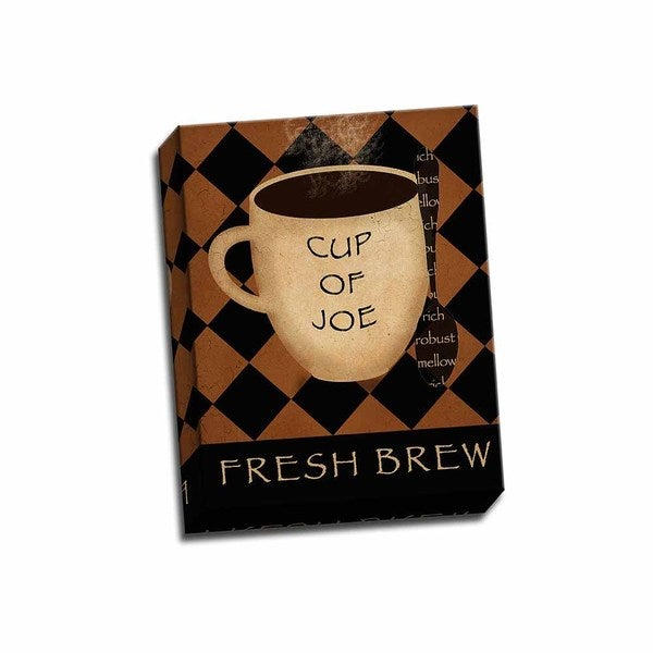 Picture It on Canvas 'Cup of Joe' 11-inch x 14-inch Wrapped Canvas Art 21916074