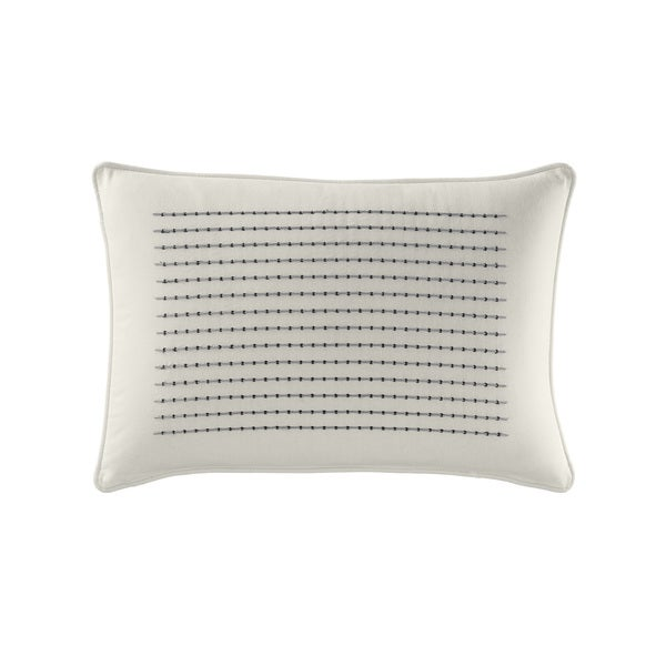 Nautica Caldwell Textured Breakfast Pillow