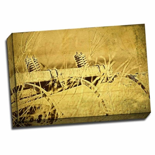Picture It on Canvas 'Farm Implement' Gallery-wrapped Canvas Wall Art