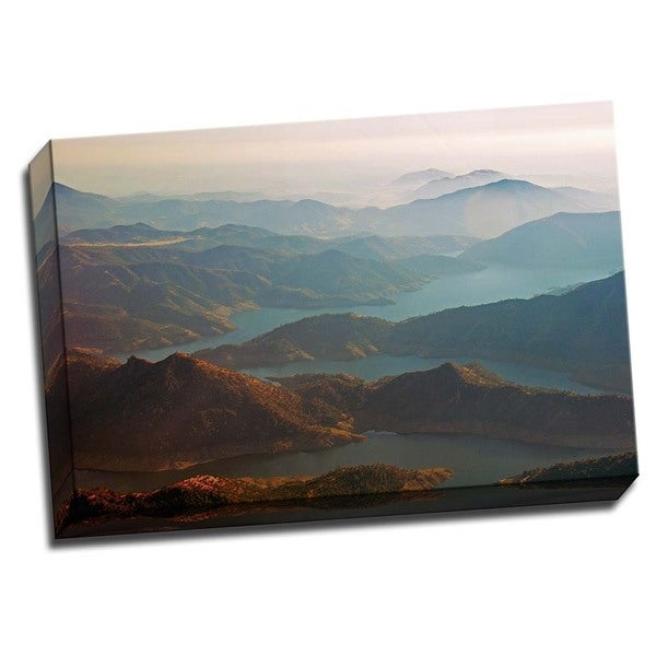 Kern Valley V 24x16 Wrapped Canvas