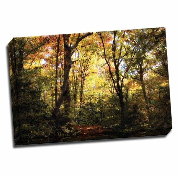 Picture It on Canvas 'Hanover Wayside II' Wrapped Canvas Wall Art