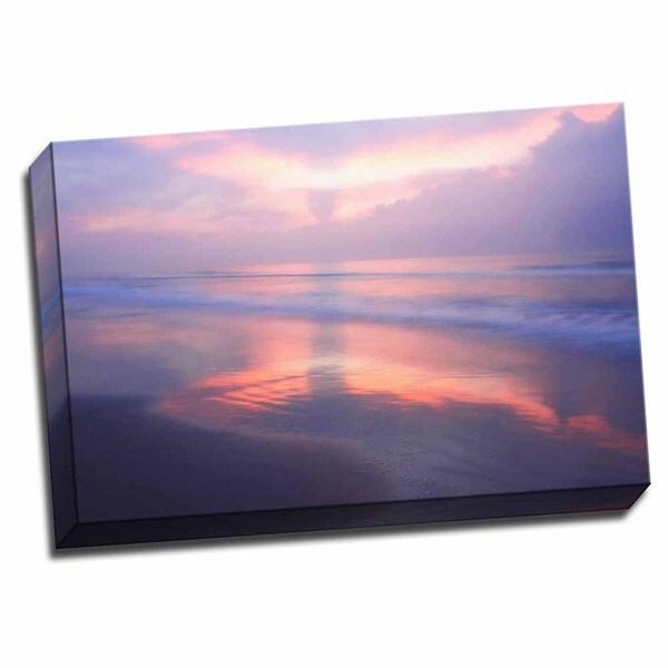 Picture It on Canvas 'Wrightsville Sunrise III' Wrapped Canvas Wall Art
