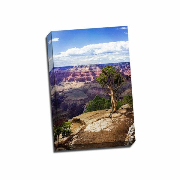 The Canyon Rim I 16x24 Wrapped Canvas
