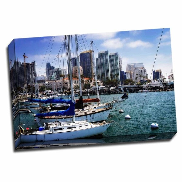 Picture It on Canvas 'San Diego Que I' 24-inch x 16-inch Wrapped Canvas Wall Art