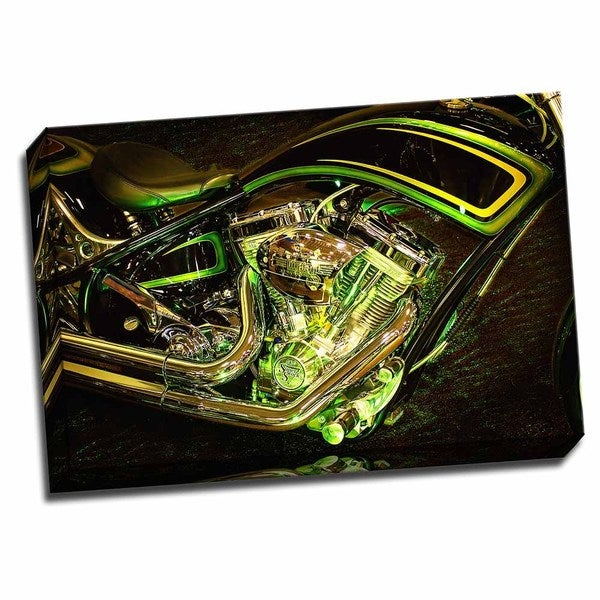 Picture It on Canvas 'The Green Hornet' 24-inch x 16-inch Wrapped Canvas