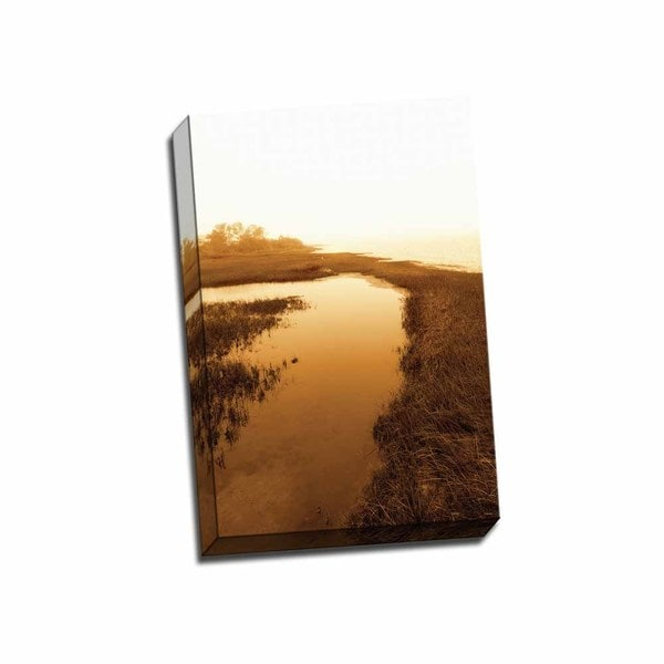 Picture It on Canvas 'Harkers Island Marsh II' 16-inch x 24-inch Wrapped Canvas