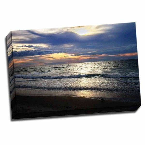 Picture It on Canvas 'Iron Sky I' 24-inch x 16-inch Wrapped Canvas