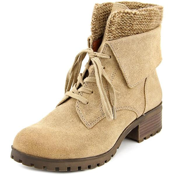 Lucky Brand Women's Huntress Tan Leather Boots