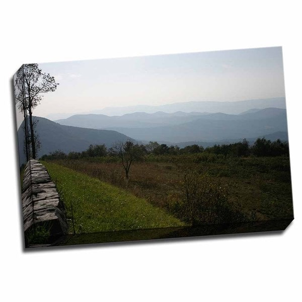 Picture It on Canvas 'Serene Countryside I' 24 x 16 Wrapped Canvas Wall Art