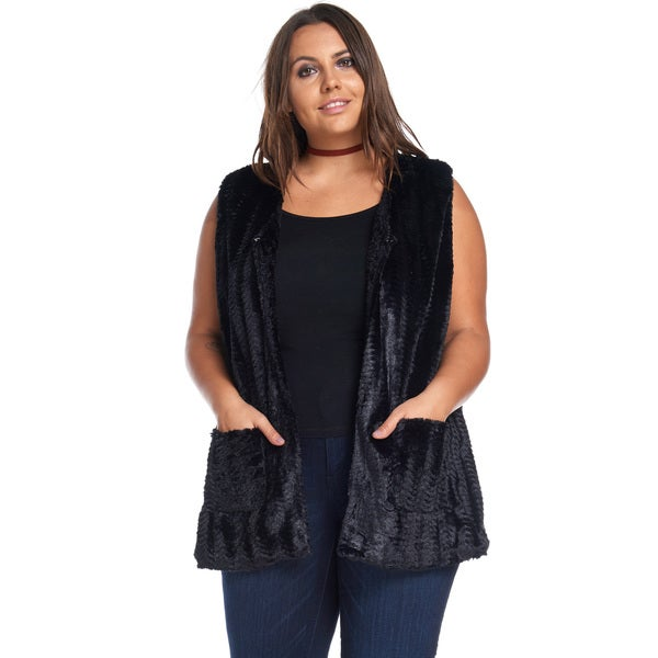 Jillian Faux Fur Vest