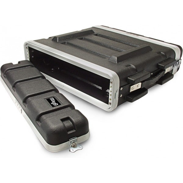 Stagg ABS-2U Hard Case for 2-Unit Rack
