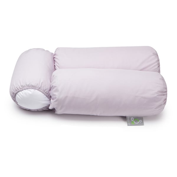 Sleep Yoga Multi-Position Body Pillow and 2 Lavender Pillow Covers