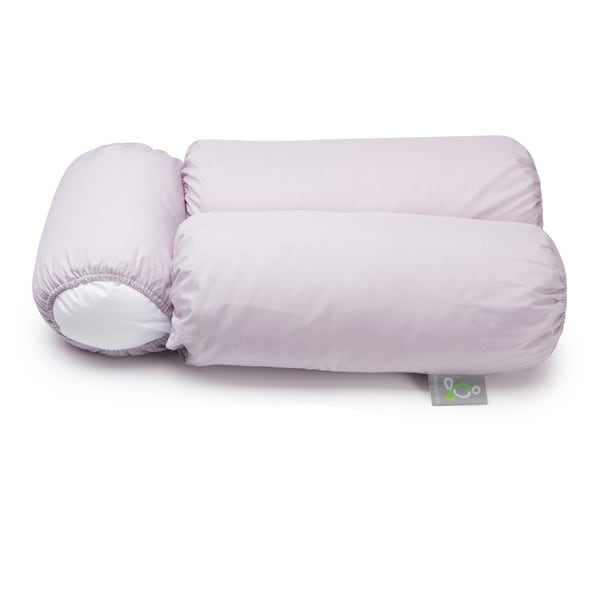 Sleep Yoga Multi-position Body Pillow with 2 White Pillow Covers
