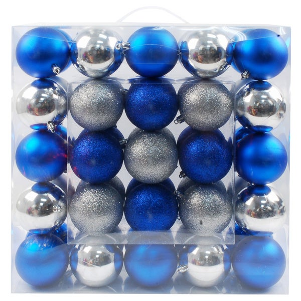 Plastic Ornaments (Case of 50)
