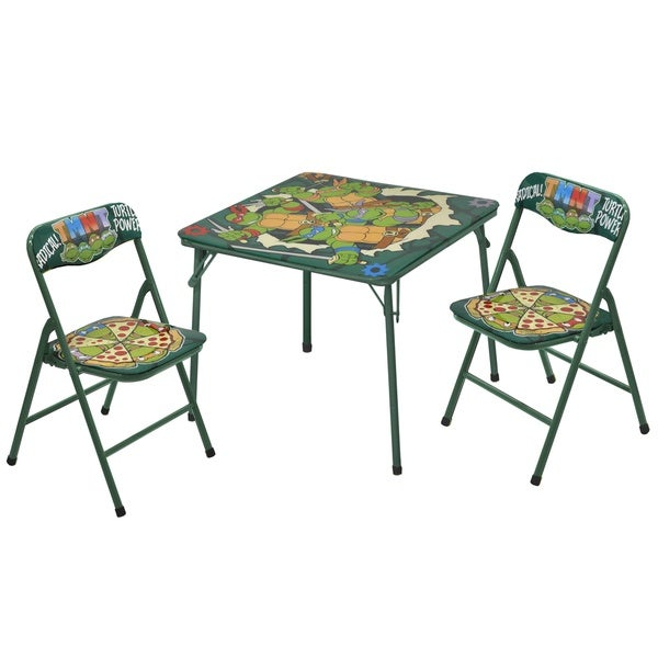 Teenage Mutant Ninja Turtles Table and Chairs (3-piece Set)