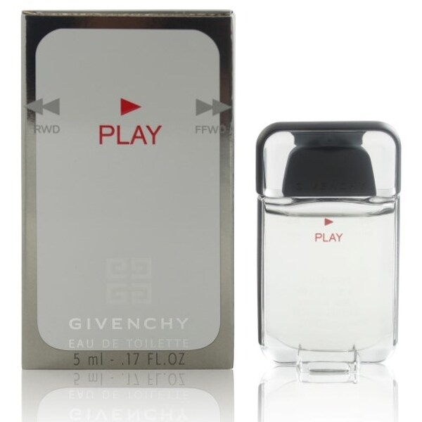 Givenchy Play Men's 0.17-ounce Eau de Toilette Splash