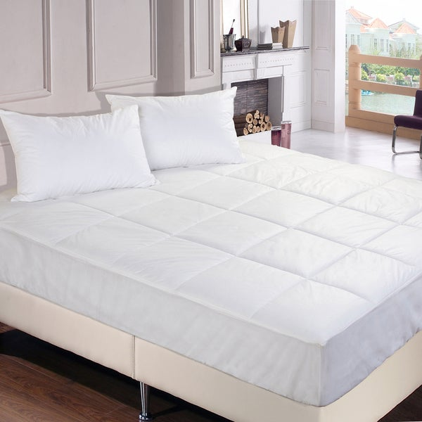 Bed Bug & Dust Mite Control Water-Resistant Mattress Pad