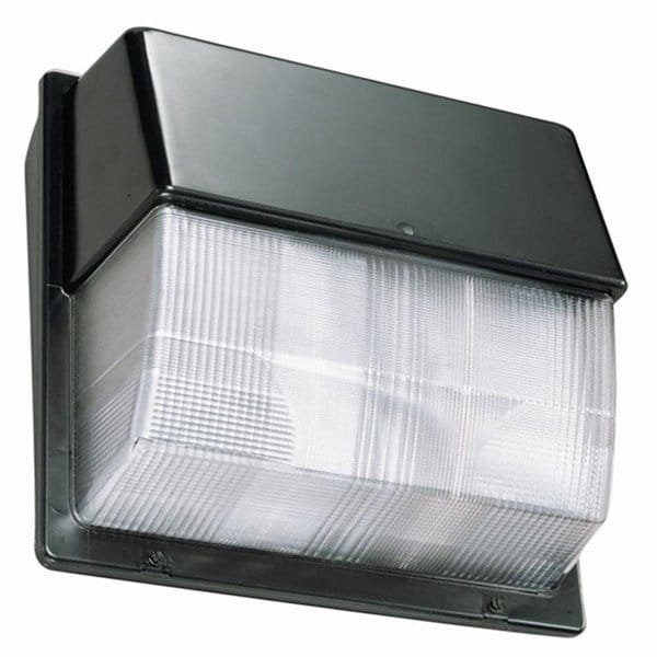 Lithonia Lighting TWP LED 30C 40K 67-Watt LED Bronze Wall Pack (Luminaire) with Polycarbonate Lens