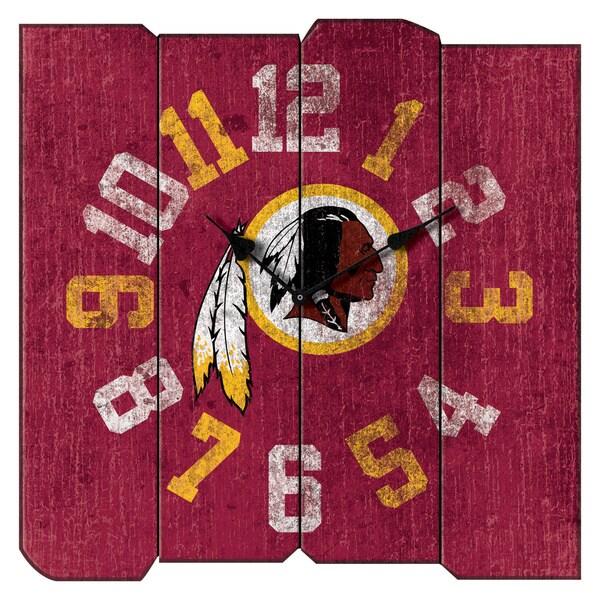 Wsh Redskins Vintage Squr Clk