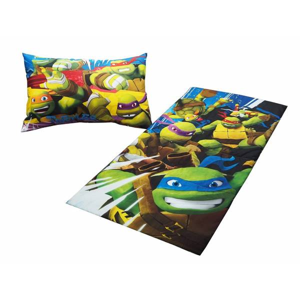 Nickelodeon Teenage Mutant Ninja Turtles 2-Piece Sleepover Bag Set