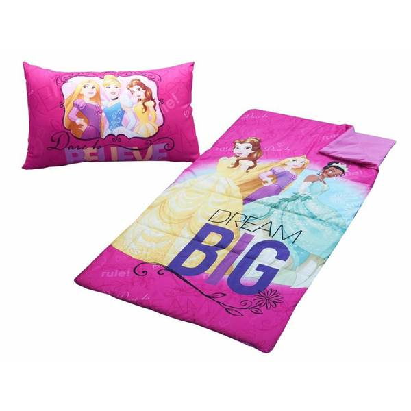 Disney Princesses 2-piece Sleepover Bag Set