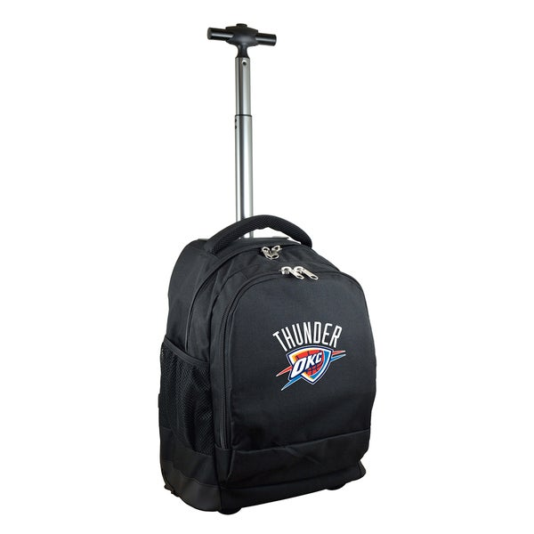 Denco Sports Mojo Oklahoma City Thunder Premium Black Wheeled Backpack