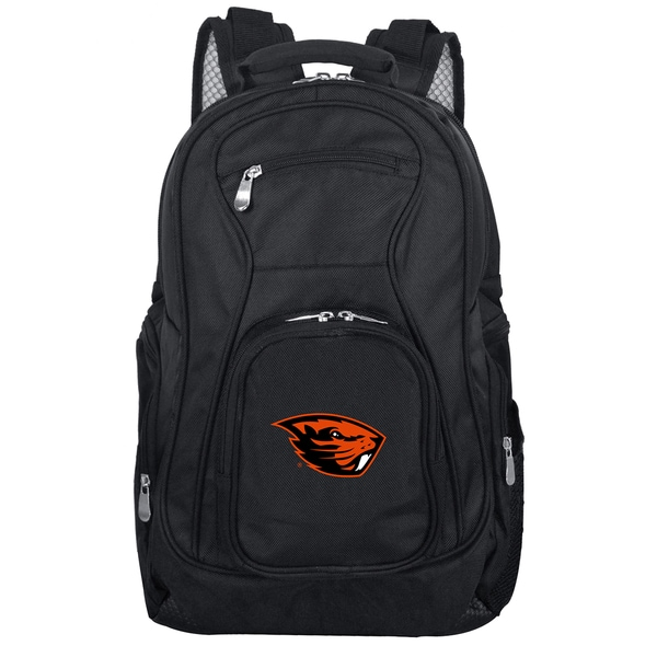 Denco Sports Mojo Oregon State Black 19-inch Premium Laptop Backpack