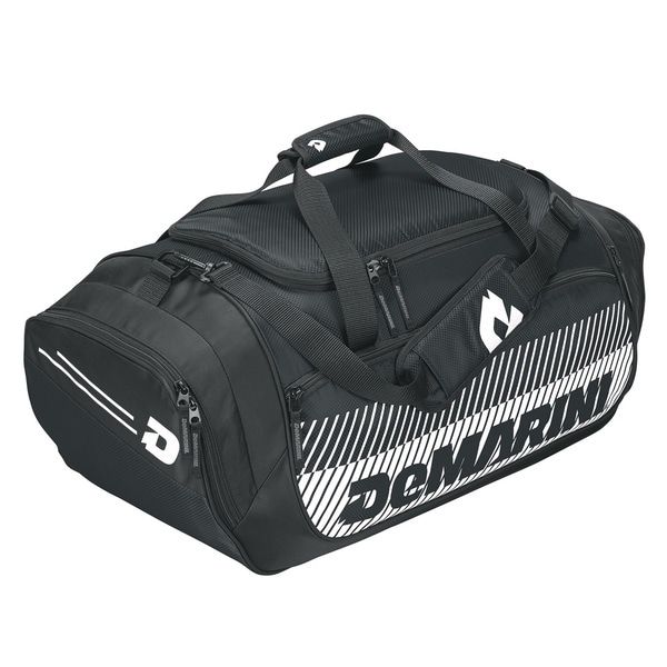 DeMarini Bullpen Black/White Nylon Duffle Bag
