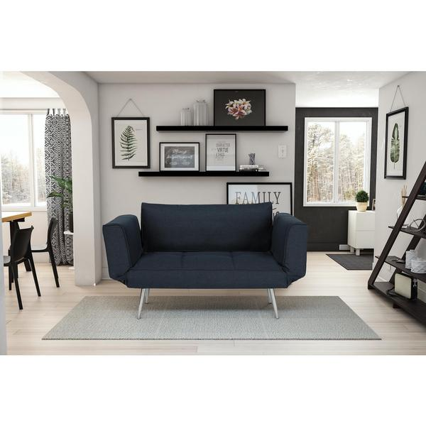 DHP Euro Futon with Magazine Storage