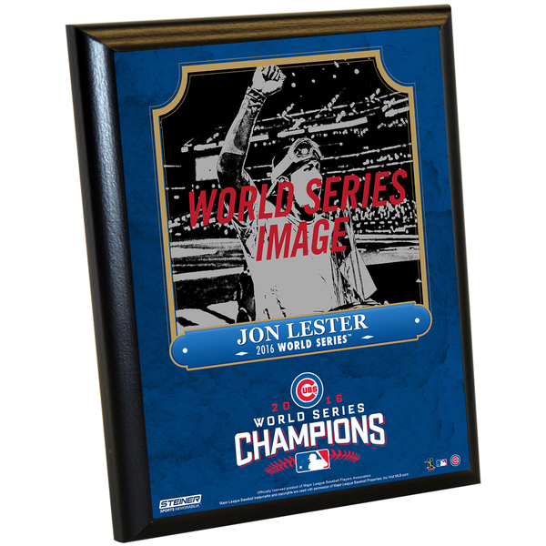 Chicago Cubs 2016 World Series Champions Jon Lester 8x10 Plaque