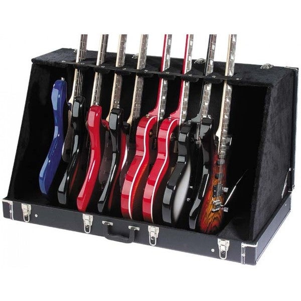 Stagg GDC-8 Black Universal Guitar Stand Case for Acoustic and Electric Guitars
