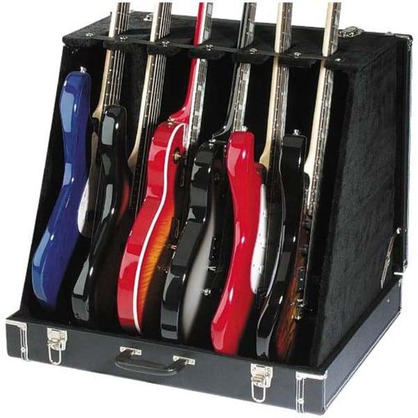 Stagg GDC-6 Black Vinyl Universal Guitar Stand Case