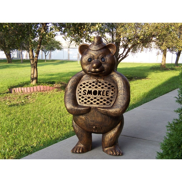 Baloo Bear Cast Aluminum Chimenea