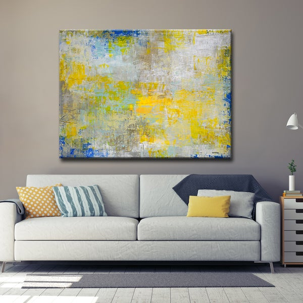 Ready2HangArt 'The Day I Met You' by Norman Wyatt, Jr. Canvas Art