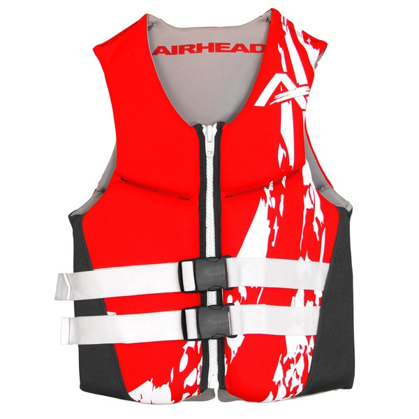 Airhead SWOOSH Red Neoprene Flex Vest