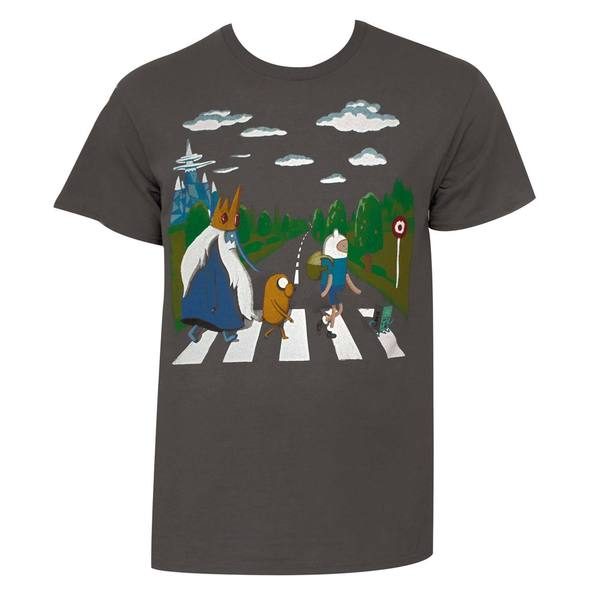 Adventure Time Men's Beatles T-shirt