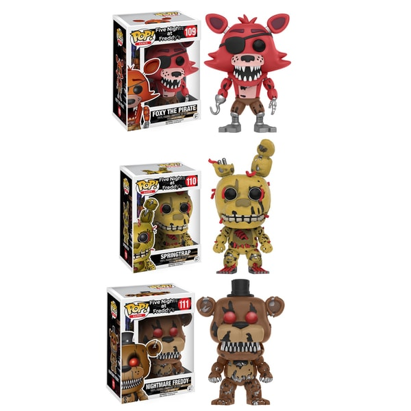 Funko Five Nights at Freddy's: POP! Games Collectors Set 21976955