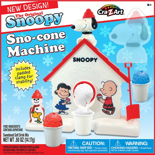 Cra-Z-Art The Original Snoopy Sno-Cone Maker 21977012