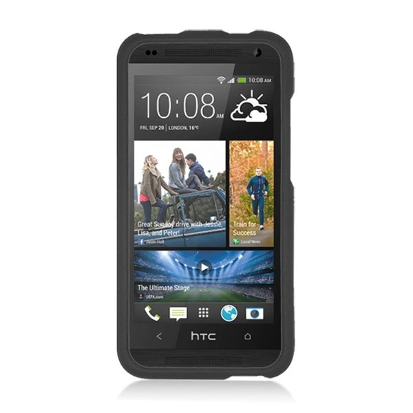 HTC Zara/Desire 601 Black Rubber Case